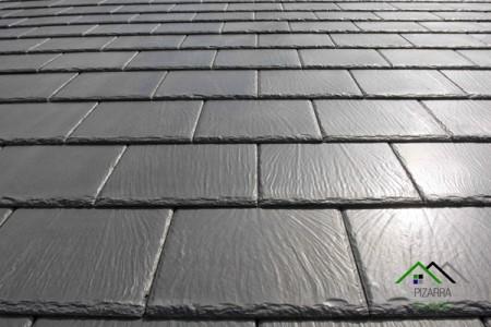 E30 pizarra negra rectangular y redondeada cantera en le n - Panel piedra precio ...