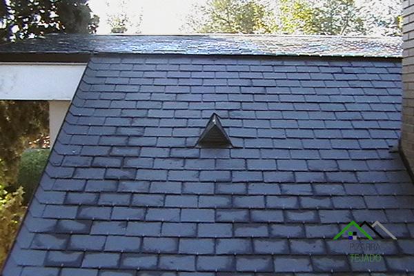 Colocaci n de pizarra en cubiertas y tejados for Aislante para tejados