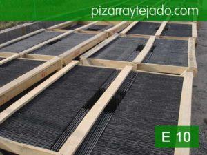 Pallet pizarra de cubierta 50x25. Modelo E 10 export.