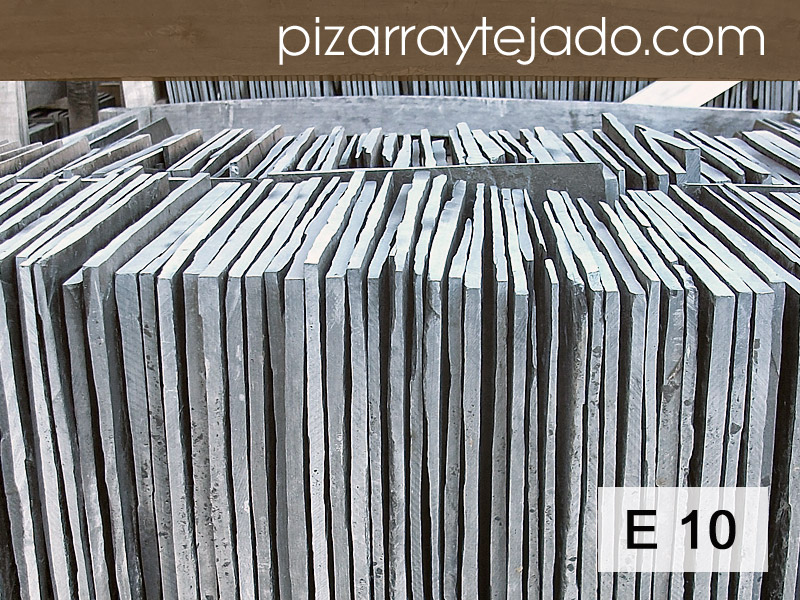 E10 Pizarra de Calidad. Pizarra Natural directa de cantera en León. Varios formatos.