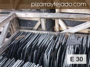 E30 Pizarra Especial de León. Venta de pizarra para tejados y cubiertas.