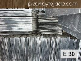 E30 Pizarra Natural calidad Excelente. Venta de Pizarra para cubiertas y tejados. Origen León.
