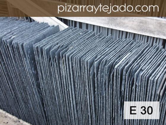 E30 Pizarra Natural. Venta de pizarra natural E30 para tejados y cubiertas.