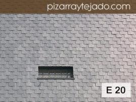Foto de pizarra para revestimiento de pared. Calidad E20. Origen León.