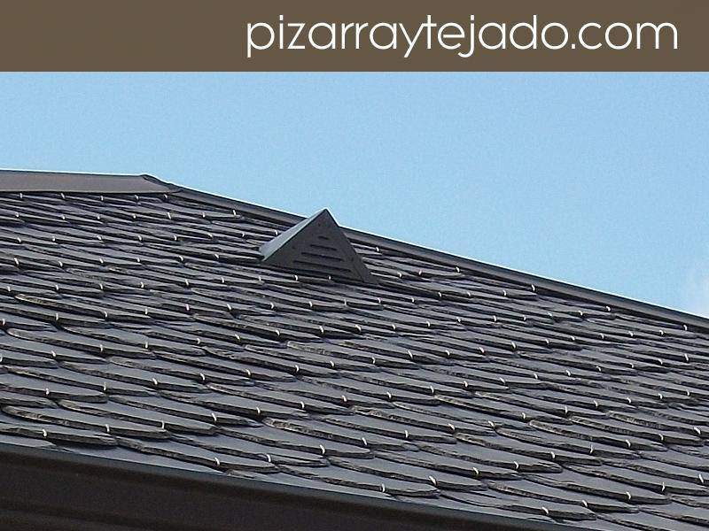 Fotos de pizarra para tejados y cubiertas - Tejado de pizarra ...