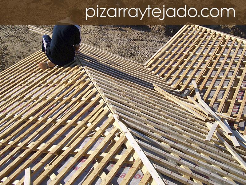Colocaci n de pizarra en tejados y cubiertas venta y colocaci n de pizarra en tejados - Cubierta de pizarra ...