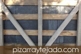 Pizarra de Calidad. Origen León. Formato rectangular.