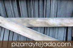 Venta y colocación de pizarra natural para tejados.