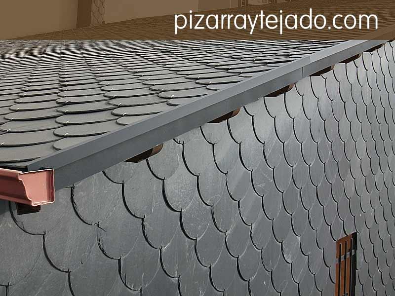 La pizarra natural de tejados es para siempre - Tejado de pizarra ...