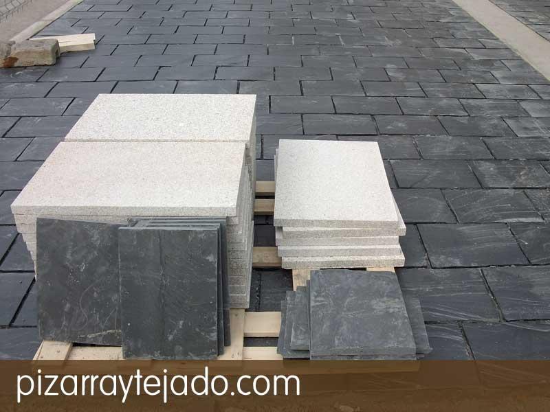 Colocaci n de pizarra para suelos exteriores e interiores - Plaquetas suelo exterior ...