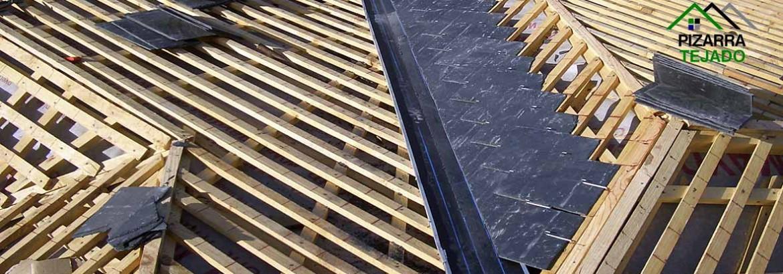 Pizarra para tejados y cubiertas colocaci n - Cubierta de pizarra ...