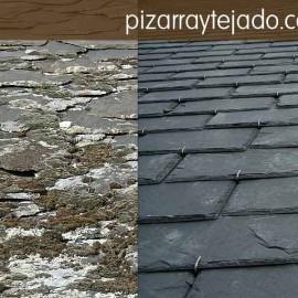 ¿La pizarra natural de tejados es para siempre?