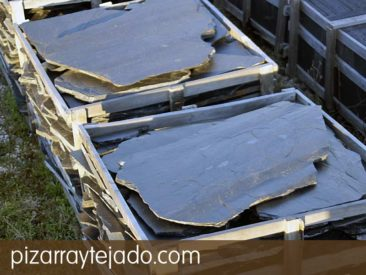 Pizarra natural para decorar exteriores e interiores - Plaquetas suelo exterior ...