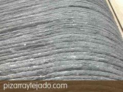 Pizarra natural grosor 5,0 mm para cubiertas y tejados.