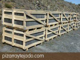 Venta de stock de pizarra para tejados. Formato para España.