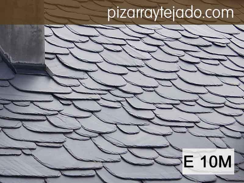 E 10M Pizarra gran fromato. Big roofs.