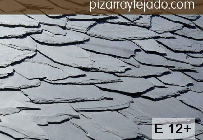 E 12 plus pizarra granel formato irregular - Tejado de pizarra ...