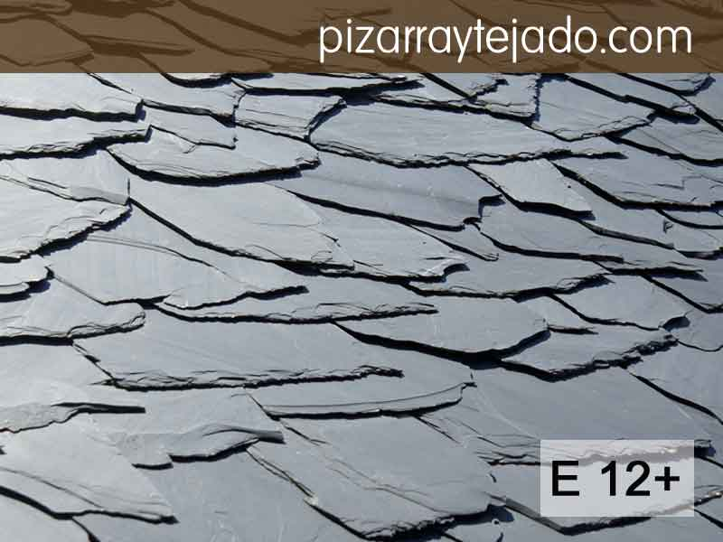 E 12 plus pizarra granel formato irregular - Dibujos de tejados ...