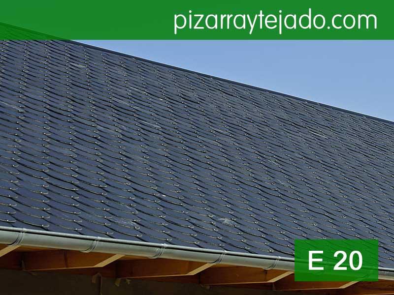 Pizarra para tejados de color gris y grando fino - Cubierta de pizarra ...