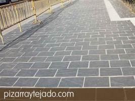 E62 plaqueta de pizarra decorativa para suelos de interior - Plaqueta decorativa exterior ...