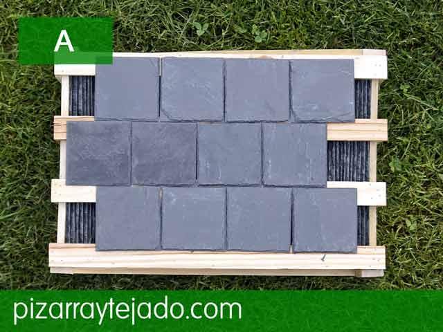 Pizarra natural para decorar exteriores e interiores for Azulejos pared exterior
