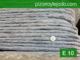 Pizarra tejado 70x50 cm y 12 mm. Origen León (Spain).