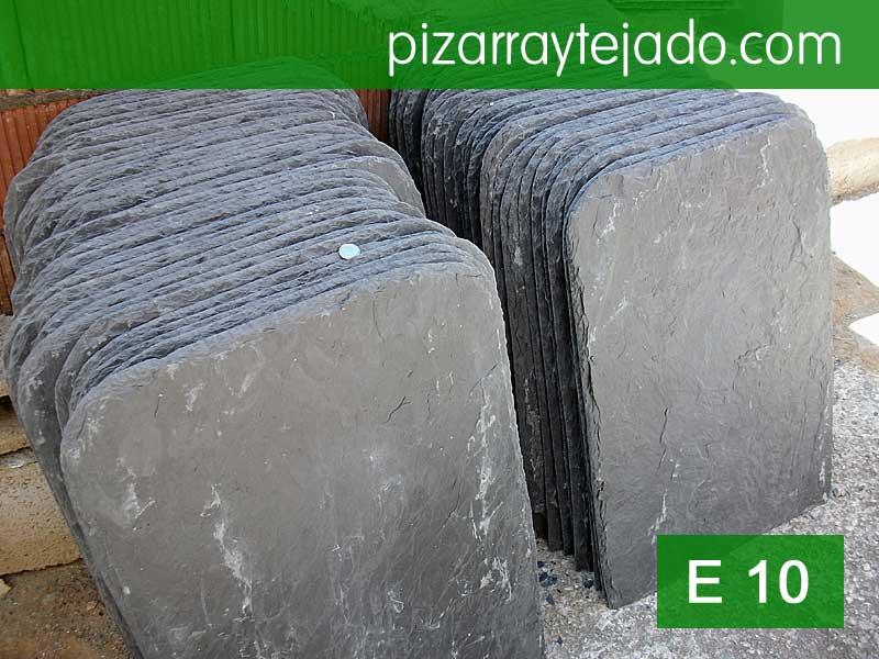 Pizarra tejado 70x50 cm y espesor 12 mm.