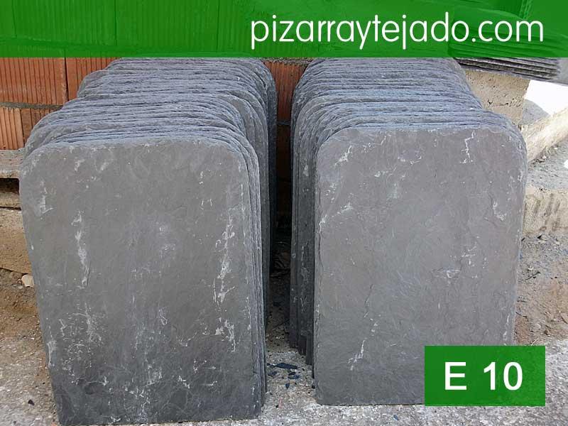 Pizarra tejado 70x50 y 12 mm.