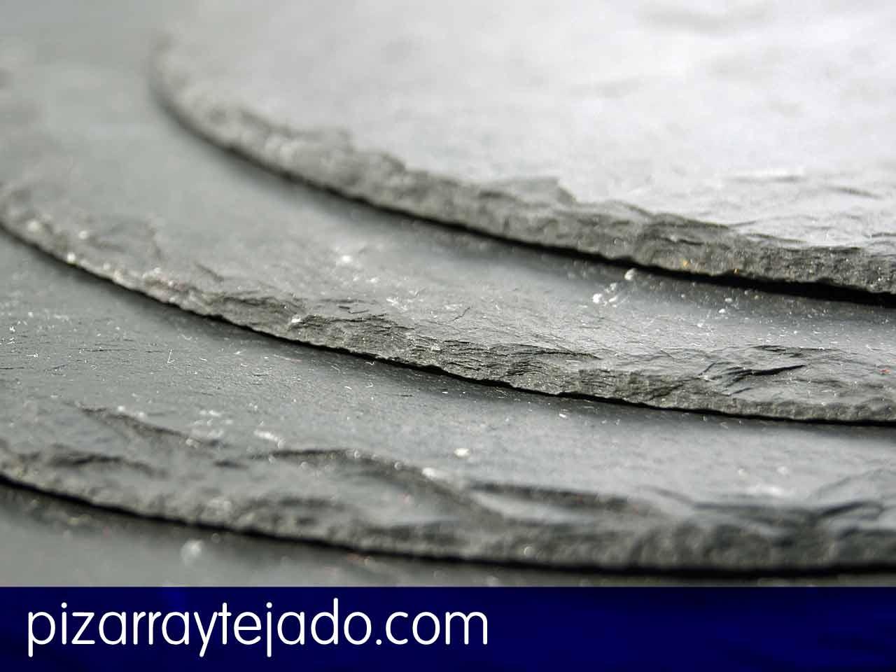 Platos de pizarra cubiertas y tejados de pizarra - Cubiertas de pizarra en madrid ...