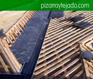 Instal·lem cobertes de pissarra. Pissarra Barcelona. Instal·lem i rehabilitem tot tipus de cobertes de pissarra natural. Pissarra per cobertes y teulades.