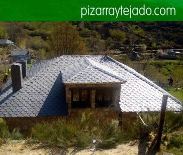 Instal·lem i rehabilitem tot tipus de cobertes de pissarra natural. Pissarra Pirineus. Pizarra Cataluña. Pissarra per cobertes y teulades.