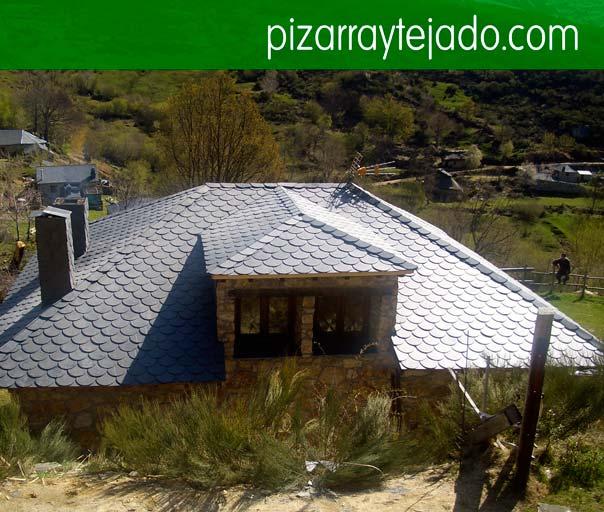 Instal·lem i rehabilitem tot tipus de cobertes de pissarra natural. Pissarra Pirineus.