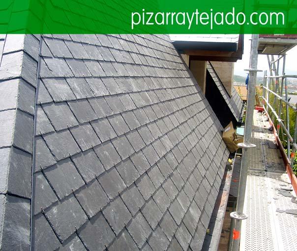 Pisarra per cobertes i teulades. Pissarra Catalunya.