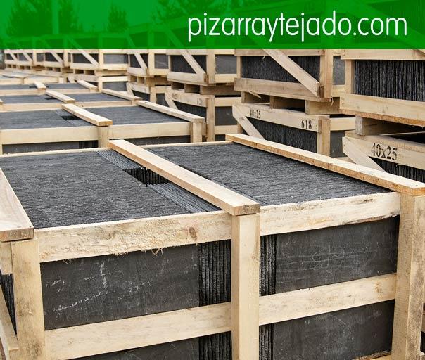 Pissarra natural treballada i pissarra natural per a teulades i façanes. Pissarra Pirineus.