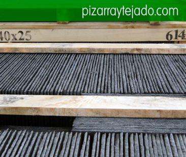 Pissarra per cobertes. Pizarra cubiertas. Pizarra tejados. Pizarra Cataluña. Teja pizarra. Piedra pizarra para cubiertas, suelos y fachadas.