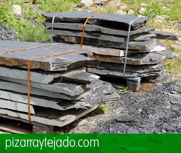 E 60 pizarra irregular para suelo de exterior e interior for Solados para jardines