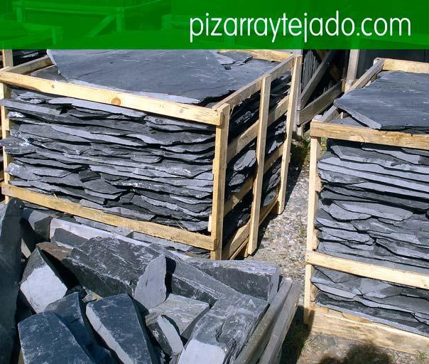 E 60 pizarra irregular para suelo de exterior e interior for Pizarra para jardin