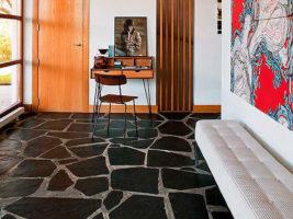 Pizarra e60 para suelos exteriores for Revestimiento paredes interiores pizarra