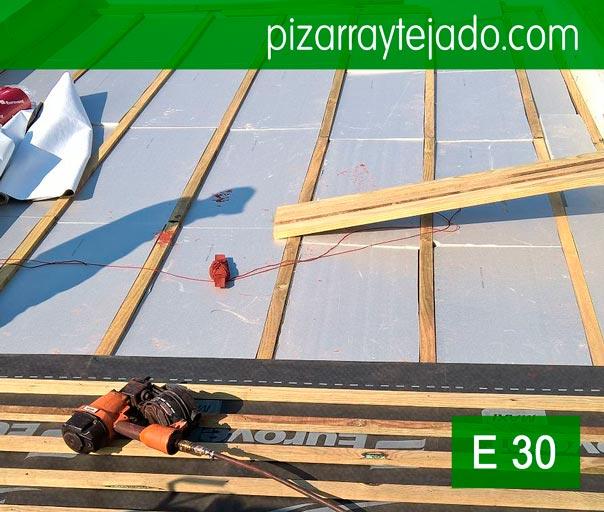 1000 images about pizarra slate naturalslate ardoise on - Tejados de madera ...