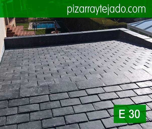 Pizarra natural para cubiertas y tejados pizarra - Tejados de pizarra ...