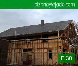 Tejados de pizarra y cubiertas de pizarra en Horebeke, Bélgica. PIZARRA PARA CUBIERTAS, REVESTIMIENTOS y DECORACIÓN.