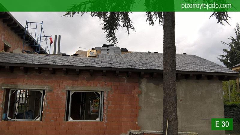 Colocaci n de pizarra en madrid pizarra para tejados en - Tejados de pizarra ...