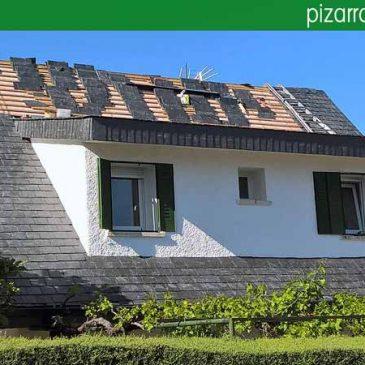 Blog pizarra natural de le n espa a colocaci n de tejados - Cubiertas de pizarra en madrid ...