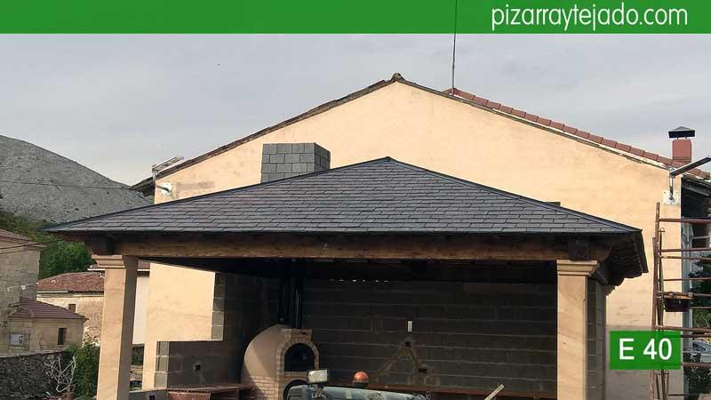 Colocaci n de pizarra en tejados y cubiertas venta y colocaci n de pizarra en tejados - Tejado de pizarra ...