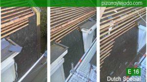 Pizarra E16 Dutch Special para tejados exclusivos en Benelux. België leien dak .