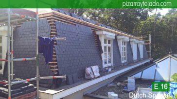 Pizarra en tejados y fachadas. Pizarra garantizada CE, NF y ATG. Pizarra en tejados.