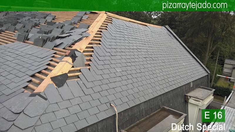 Pizarra natural de le n de gama alta cubierta de pizarra precio cubiertas y tejados de pizarra - Cubierta de pizarra ...