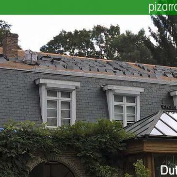 Blog pizarra natural de le n espa a colocaci n de tejados - Tejado de pizarra ...