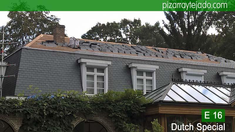 Pizarra para cubierta de tejado cubiertas y tejados de pizarra colocaci n de pizarra en tejados - Cubierta de pizarra ...