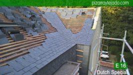 Proyectos de ejecución de cubiertas de pizarra. Precio m2 pizarra para cubierta.